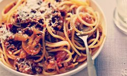 """Spaghetti Bolognese done the """"correct"""" way"""